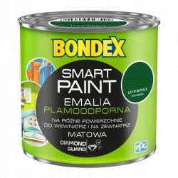 BONDEX SMART PAINT emalia 0,2L LIST W BUTELCE